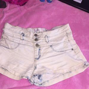 Stoned Wash Shorts